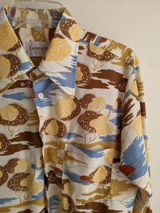 Prairie Sunset Button-down