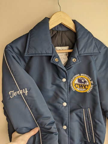 Terry's Blue Bomber Jacket