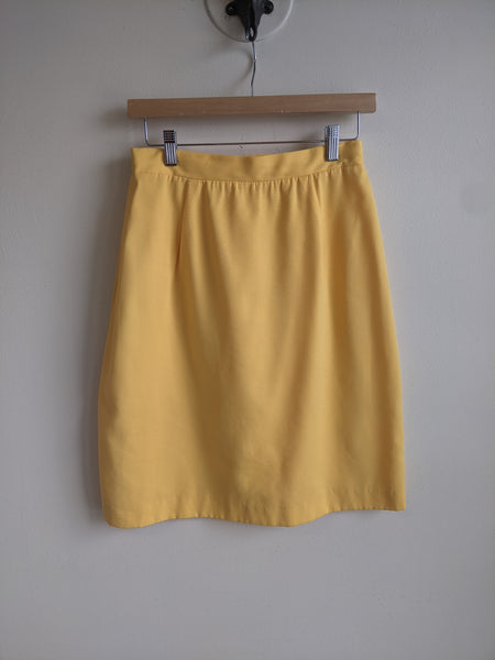 Sunshine Yellow skirt