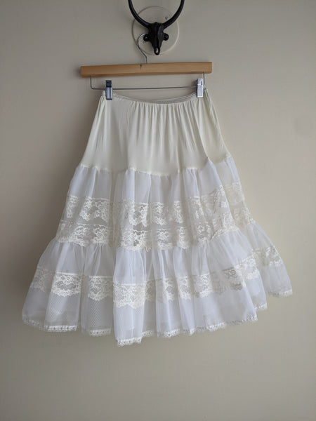 Knee-length Crinoline