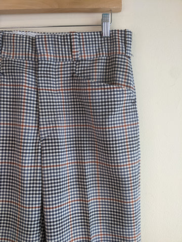 Checkered 1970's Trousers
