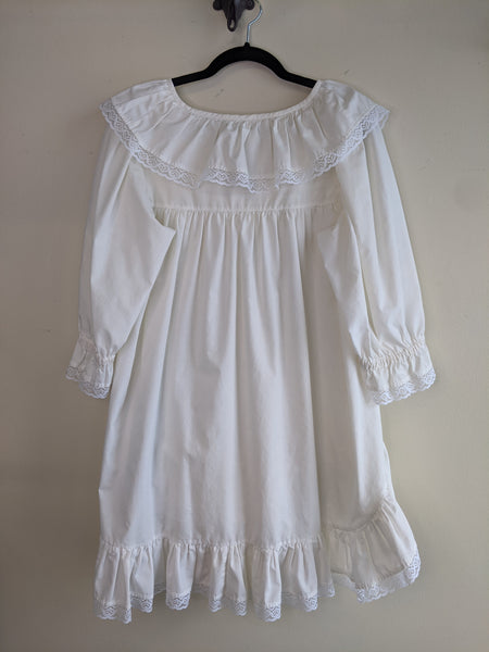 Ruffles & Lace Babydoll Dress