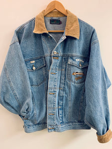 Higher State Light Wash Denim Jacket - Medium