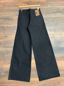 Howick Riders Thick Black Denim Bell Bottoms