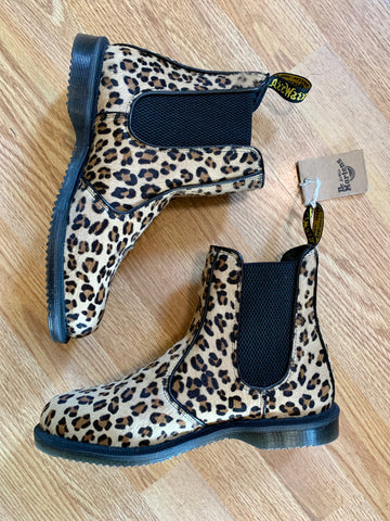 Mint condition leopard print Doc Martens