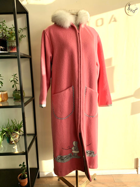 Handmade Wool Full-Length Parka