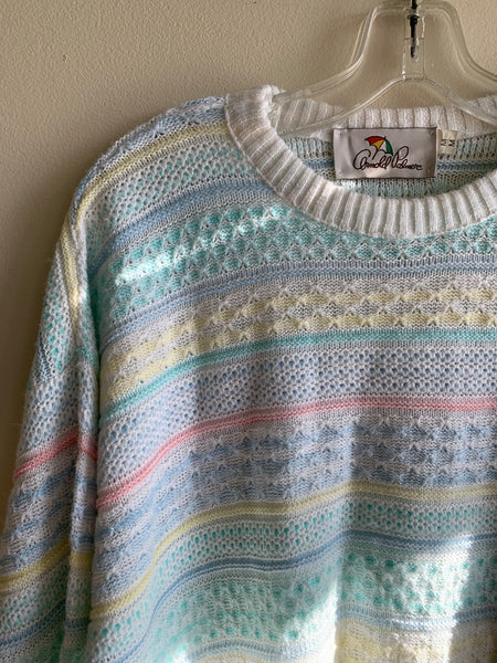 Cupcake Coloured Arnold Palmer Sweater