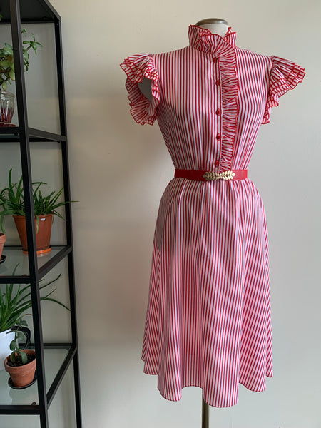 Candy stripe dress