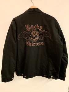 Men's Lucky 13 quilted jacket