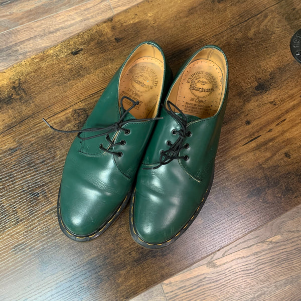 Doc Martens Groovy Green Shoes