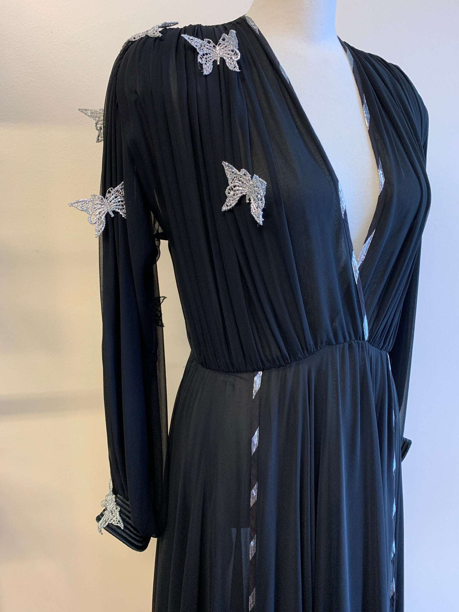 Wayne Clark Butterfly Gossamer Dress