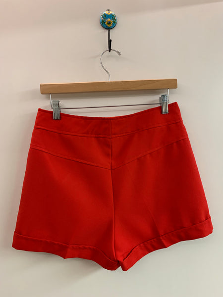 70's red shorts