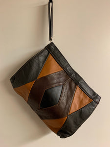 Mexican Leather Wristlet