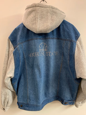 1990s Higher State Denim/Hoodie