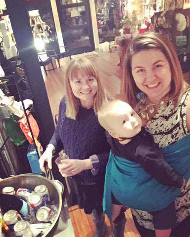 Kat & Jade (With Little L) at Ladies Night Out in Whitefish, MT