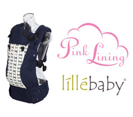 lillebaby pink lining exclusive baby carrier