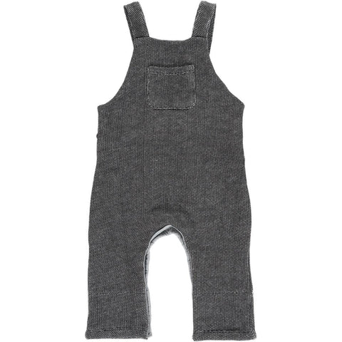 Black Sweat Dungarees | Me & Henry