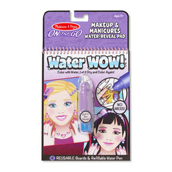 Water WOW! Makeup & Manicures - On The Go Travel Activity | Melissa & Doug