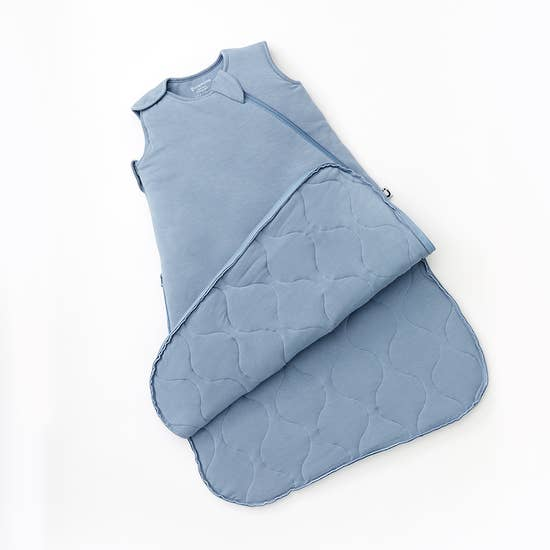 Denim Blue Bamboo Duvet gunaPod Sleep Bag - 1.0 TOG | Gunamuna