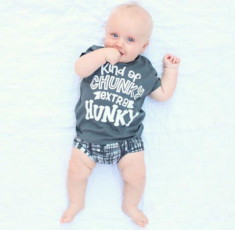 Copy of Kind Of Chunky Extra Hunky T- Shirt | Spill The Beans - Nature Baby Outfitter