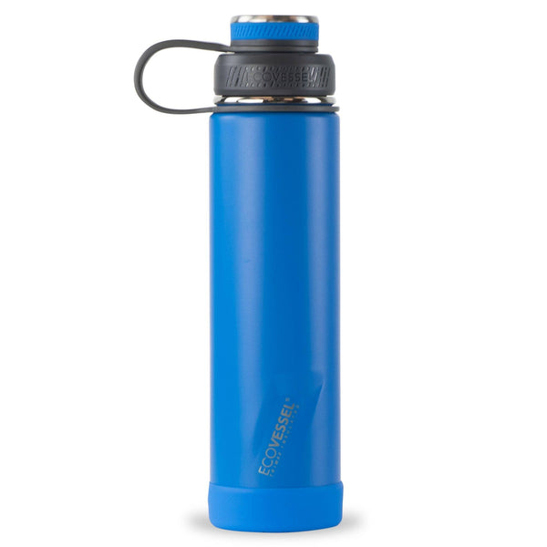 Hudson Blue Insulated Stainless Steel 24oz Bottle | EcoVessel