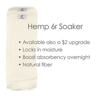 6R Soaker- Hemp - Nature Baby Outfitter