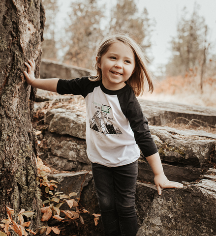 I Love You To The Mountain Top Raglan| Made Of Mountains