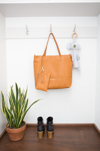 Bella Tunno - Boss Bag Cognac - Nature Baby Outfitter