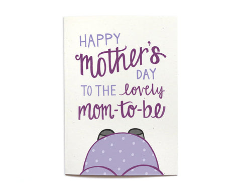 Happy Mother's Day To The Mom-To-Be| Hennel Paper Co.