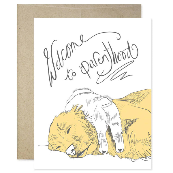 Welcome to Parenthood Card | Good Juju Ink