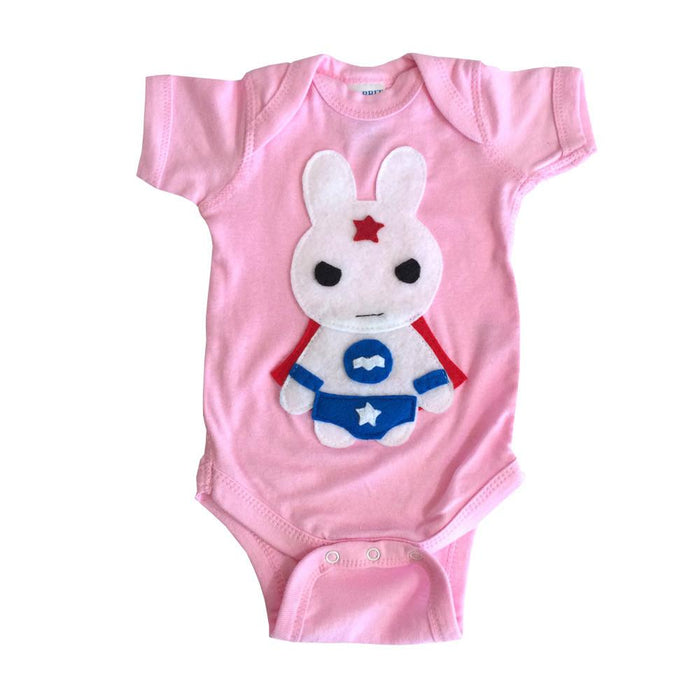 Star Bunny Infant Bodysuit | mi cielo