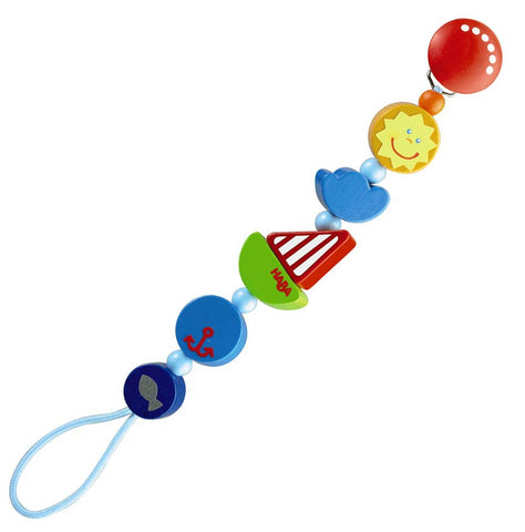 Ship Ahoy Pacifier Chain | HABA