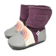 Dream On Felted Wool Booties | Nooks Design