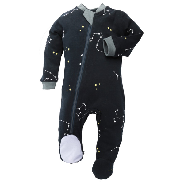 Navy Galaxy Love Bodysuit | ZippyJamz
