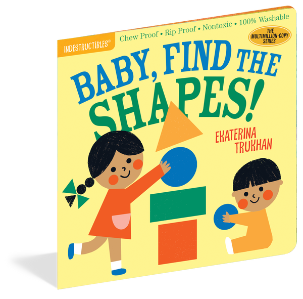 Baby, Find The Shapes Chewproof  Book | Indestructibles
