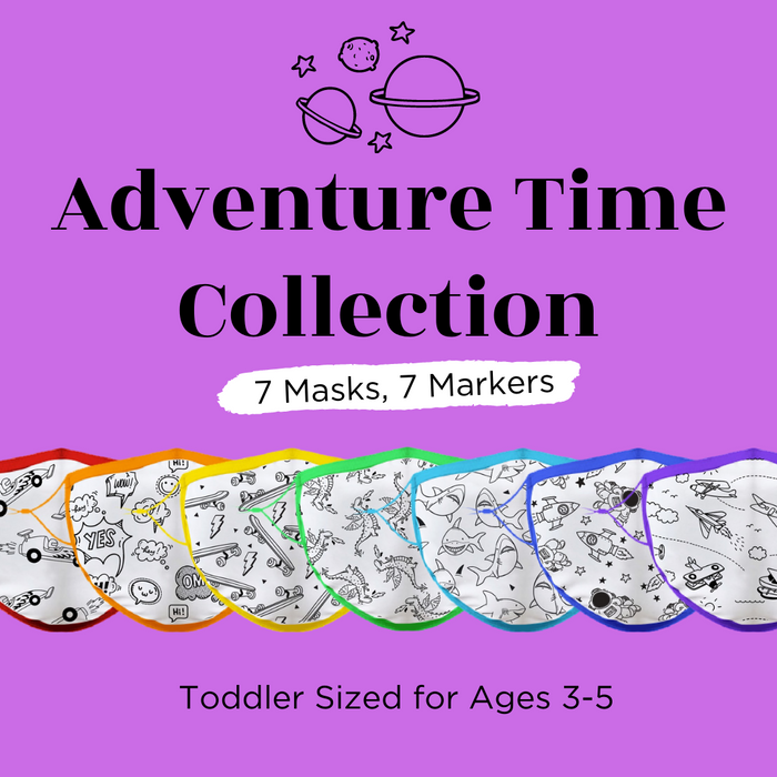Adventure Time Collection Masks | Crafty Solutions LLC