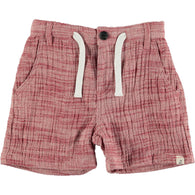 Red Gauze Shorts | Me & Henry