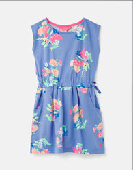 Jude Blue Floral Dress | Joules