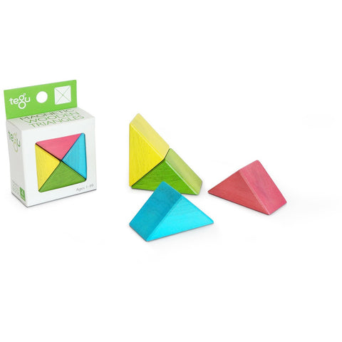 Tegu Triangle 4 Pack- Tints - Nature Baby Outfitter