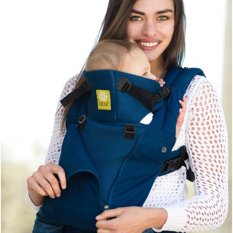 Navy All Seasons | 6-Position Baby Carrier | COMPLETE by LILLEbaby - Nature Baby Outfitter