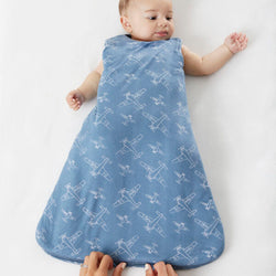 Airplane Newborn gunaPod Swaddle Sack | Gunamuna