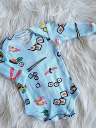 Sushi Long Sleeve Onesie | Thingamajiggies