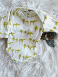 Moose Long Sleeve Onesie | Thingamajiggies