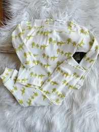 Moose 2 Piece Pajama Set | Thingamajiggies