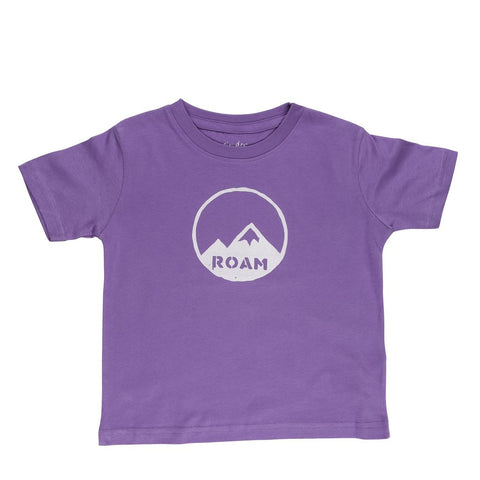 Cinder + Salt - Toddler ROAM Mountains Tee - Nature Baby Outfitter