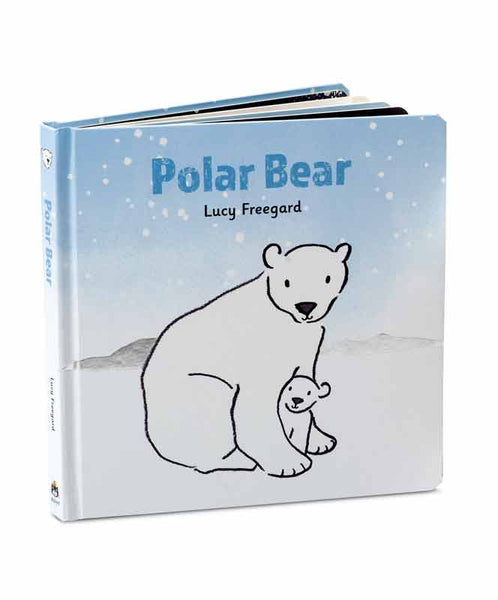 Polar Bear Board Book | Jellycat
