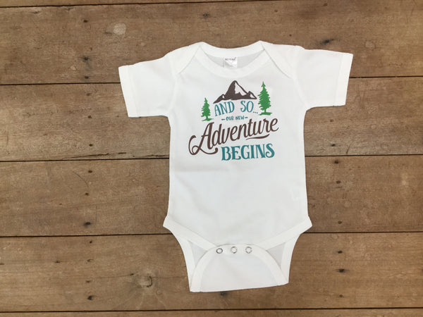 And So Our New Adventure Begins| Sprinkles And Jam - Nature Baby Outfitter