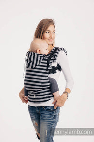 Light And Shadow Ergonomic Baby Size Carrier- Twill Weave 100% Cotton |Lenny Lamb