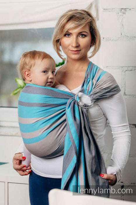 Misty Morning Ring Sling With Gathered Shoulder | Lenny Lamb