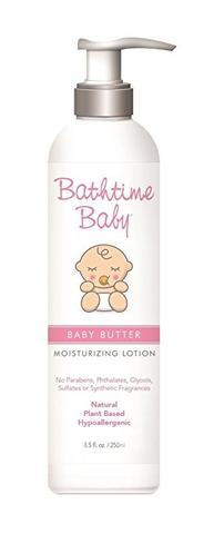 Baby Butter 8.5 FL Oz| Bathtime Baby - Nature Baby Outfitter